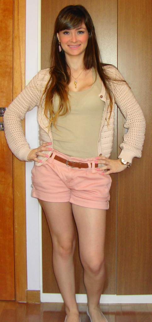 Look do Dia: Shortinho + Tricot